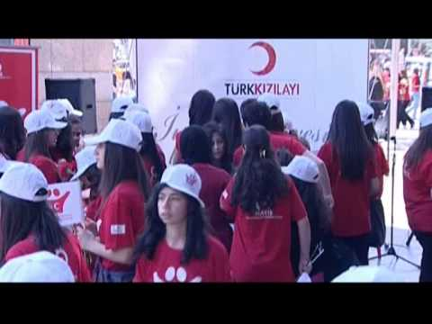 The Red Cross - Red Crescent movement on may 8th to Ankara