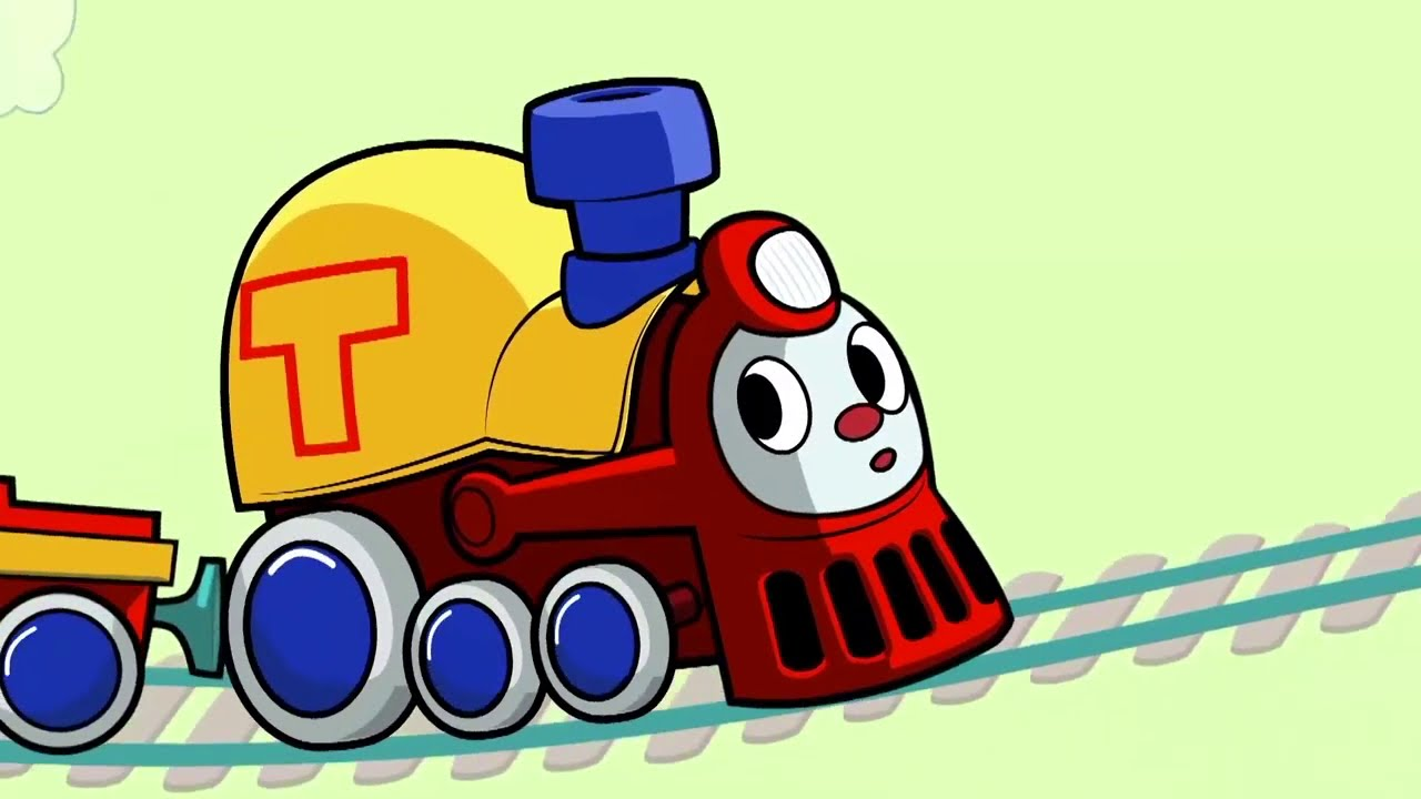 Educational Videos For Toddlers - Little Train - Cartoon For Kids