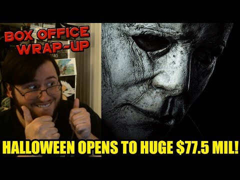 HALLOWEEN Opens to HUGE $77.5 Million Weekend! 2nd Best October Opening!- Box Office Wrap-Up