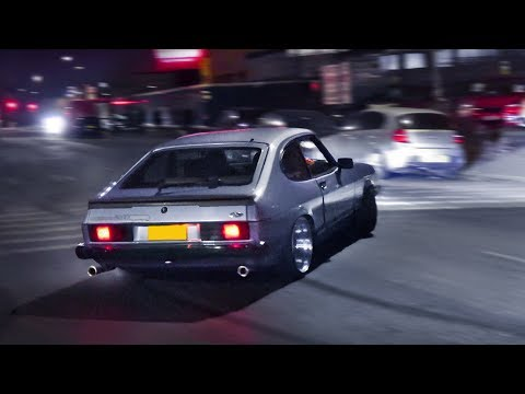 Modified Fords go CRAZY on the Street!