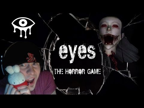 EYES the Horror Game - COMPLETED - w/ Death Montage at the End! (Download Link Below)