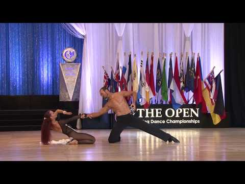 The Open 2018  1st Place Winners   Cabaret   Alyenendrov Tsorokean and Maria Wheeler