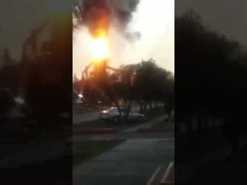 Explosión en AHMSA Monclova
