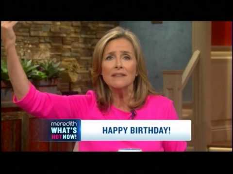 Happy Birthday Song Sung on the Meredith Show Copyright ruled unvalid 9 22 2015