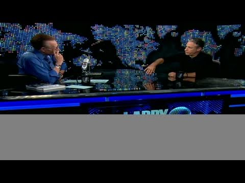 CNN Official Interview: Jon Stewart visits with Larry King
