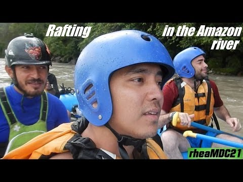South America: Kayak & River Rafting in Ecuador's Amazon River