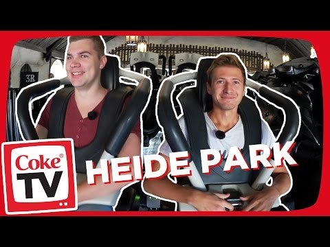izzi im Heide Park | #CokeTVMoment
