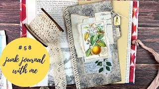 Junk Journal with me 58 - Removable Page Divider