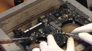 Замена видеочипа на macbook pro  a1286(Ремонт Apple в Новосибирске. Ремонт Ноутбуков. Ремонт iPhone, ремонт iPad, ремонт Macbook. Рemontoff сервисный центр. Новоси..., 2014-10-06T08:23:07.000Z)