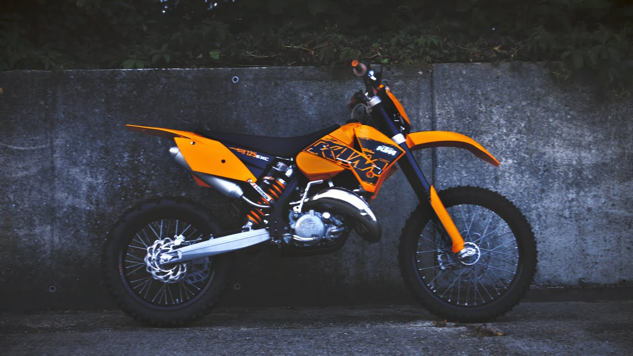 Bike racing dirt ktm