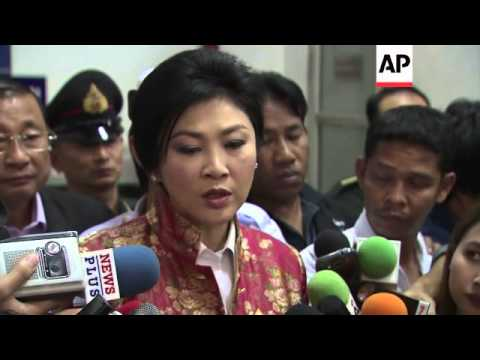 Prime Minister Yingluck Shinawatra comments ahead of election