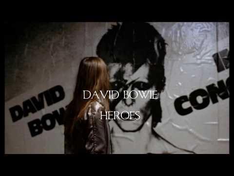 David Bowie-Heroes (sub-Español/Lyric-English) HD