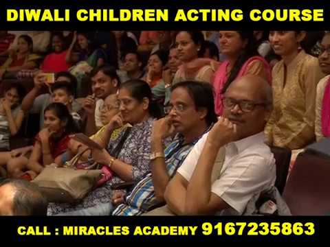 Miracles Diwali Childrens Acting Course