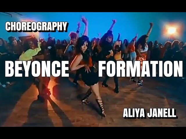 FORMATION Mashup - Beyoncé | Choreography by Aliya Janell | Stilettos heels