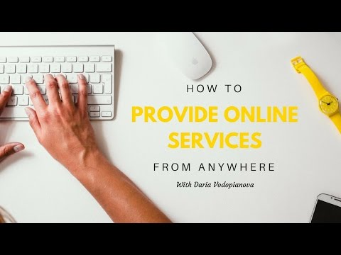 How To Provide Online Services While Traveling - The Nomad Masterclass