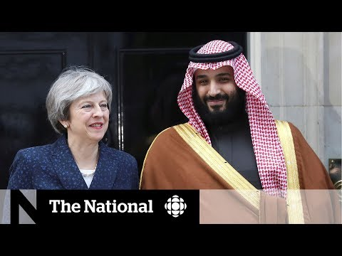 Saudi prince's charm offensive in U.K. offends many