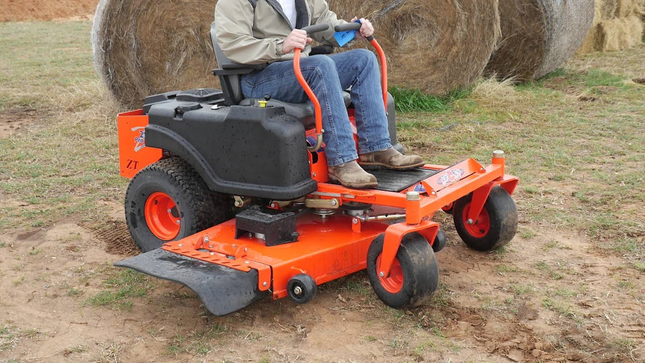 Demo Video Of Bad Boy Zt Pro Series 60 Zero Turn Mower With Kohler Engine You