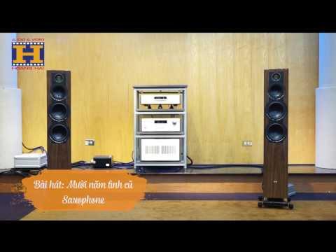 [ Audio Hoàng Hải ] Bộ nghe nhạc loa ELAC FS 409 và CD, Ampli Rotel