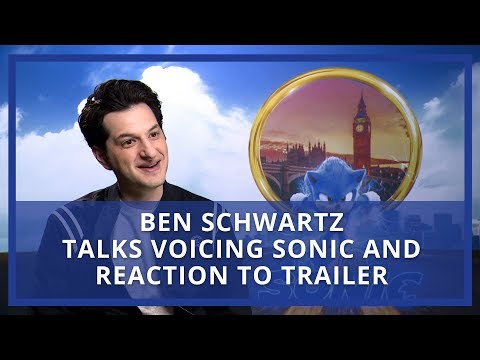 Ben Schwartz talks voicing Sonic and reaction to controversial trailer