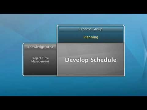 Develop Project Schedule - YouTube