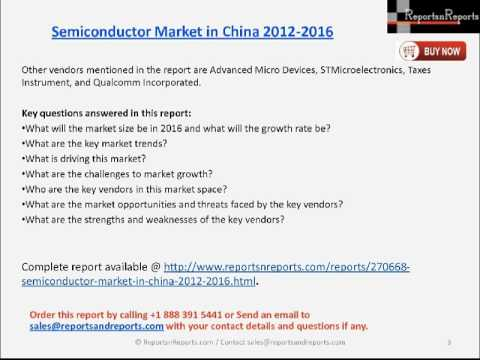 China Semiconductor Industry 2016