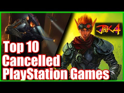 Top 10 Cancelled or Unreleased Playstation Games