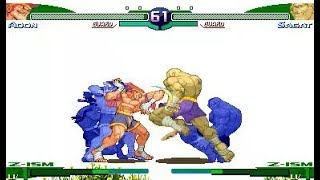 [TAS] Adon VS Sagat (Street Fighter Zero 3)