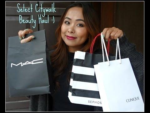 Beauty Haul from Select Citywalk, Delhi | TiTi's Corner