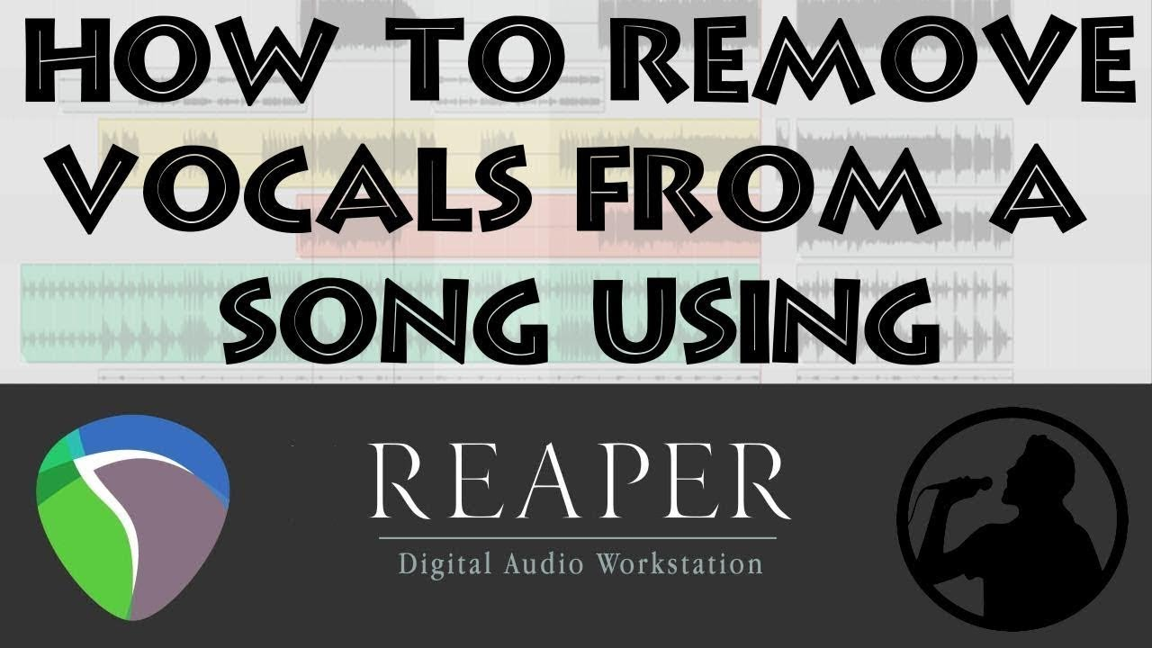 HOW TO REMOVE VOCALS FROM A SONG USING REAPER