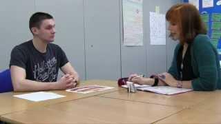 ESOL Skills for Life (QCF) Level 1 - interview sample video No.1