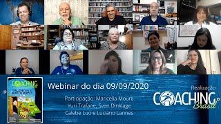 Webinar Talentos e Pontos Fortes com autores - 09 set 2020