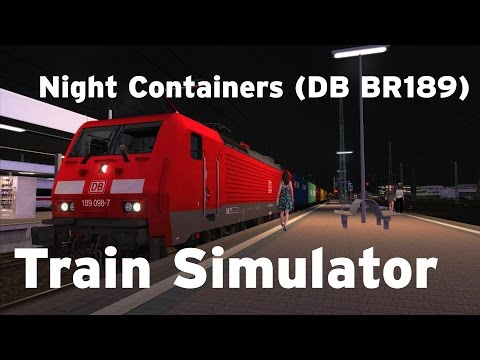 Train Simulator - Night Containers (DB BR189)