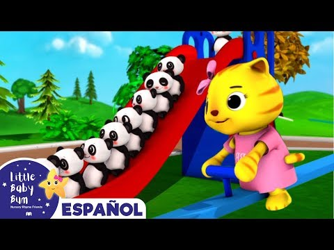 Canciones Infantiles | Diez Animalitos | Dibujos Animados | Little Baby Bum En Español