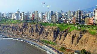 Costa Verde de Lima desde un taxi un dia cualquiera de Noviembre.