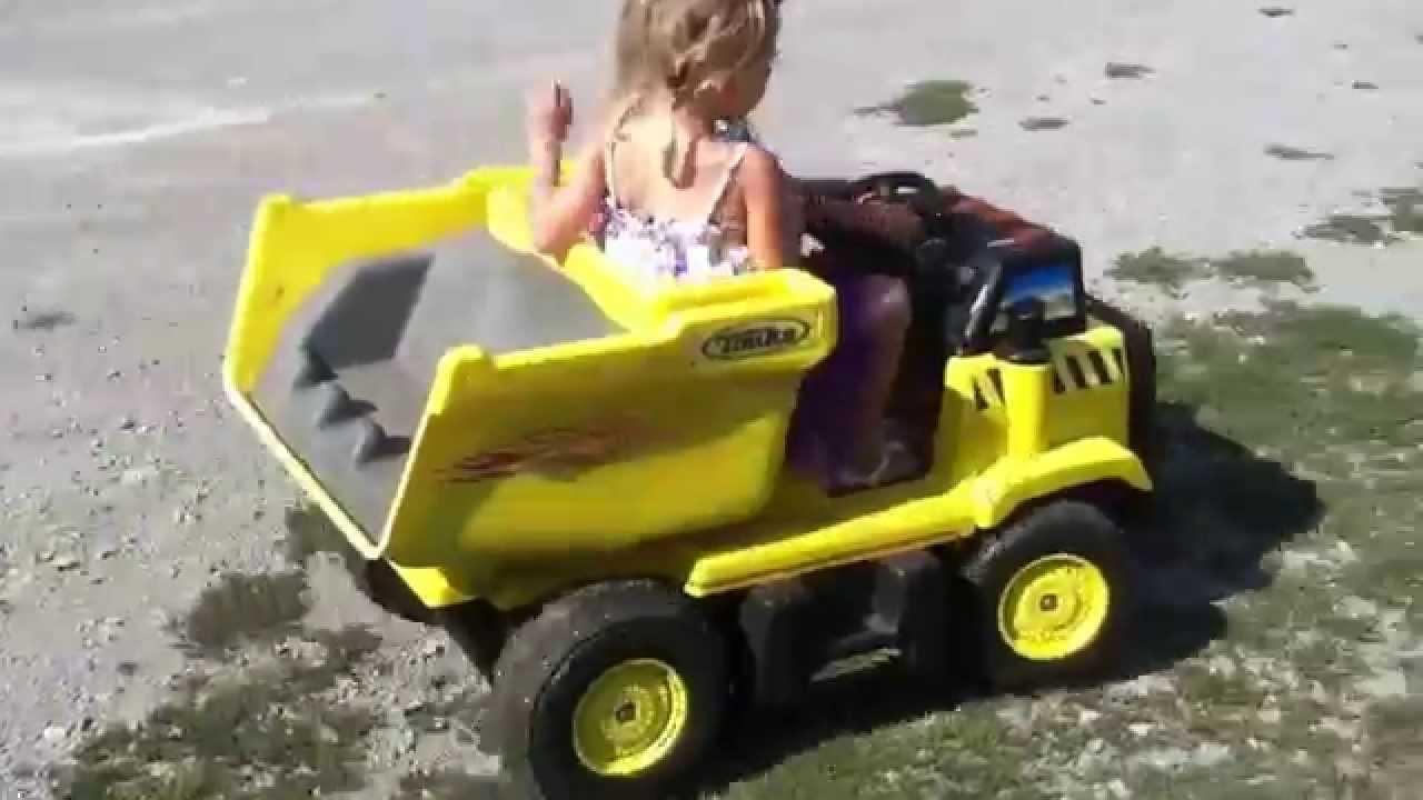 Garbage Truck Power Wheels : Tonka garbage truck toy best trash recycle