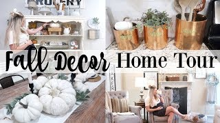 FALL DECOR HOME TOUR 2019 | FARMHOUSE FALL DECOR | BRITTANI BOREN LEACH