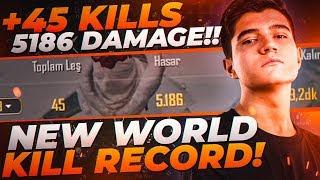 45 KILLS!! | NEW WORLD RECORD IN PUBG MOBILE