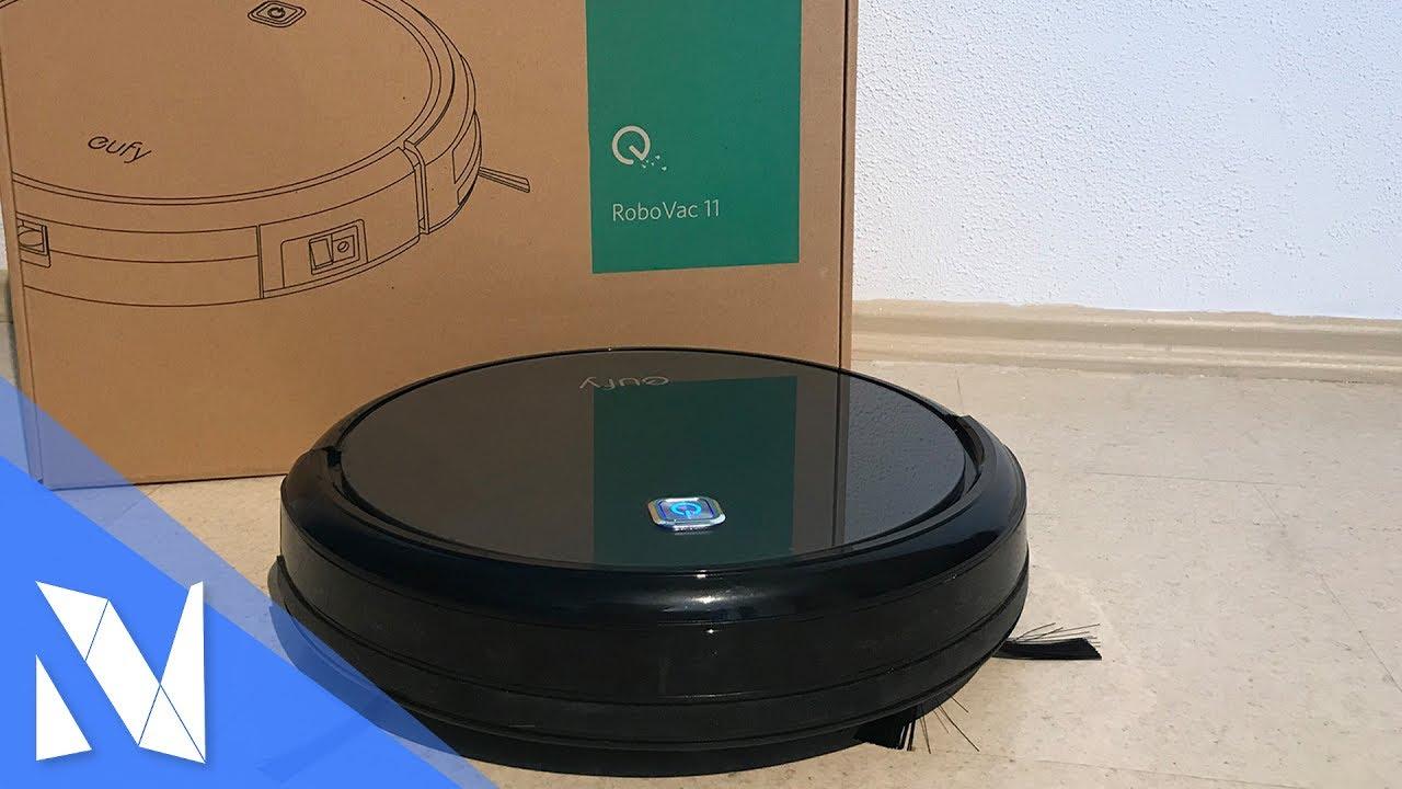 smarter saugroboter f r 200 im test eufy robovac 11. Black Bedroom Furniture Sets. Home Design Ideas