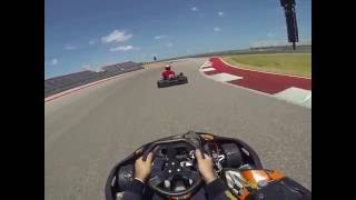 Go Karting at Circuit of the Americas!