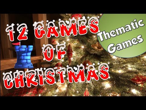 12 Games of Christmas - Thematic Games