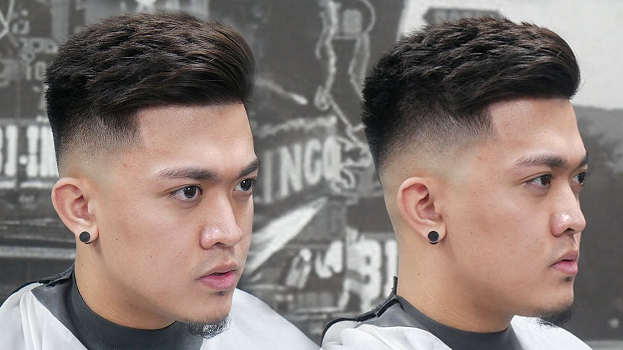 How To Skin Fade Combover Richie Le Hair Tutorial