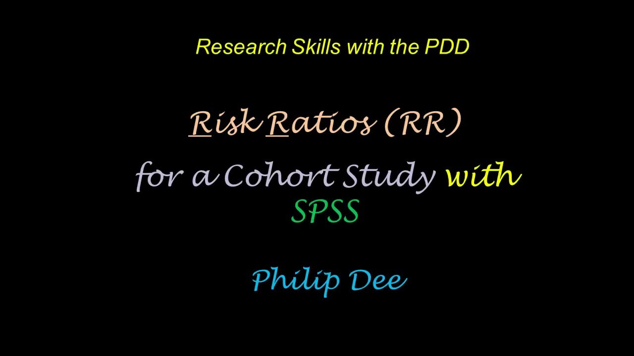Risk Ratio SPSS