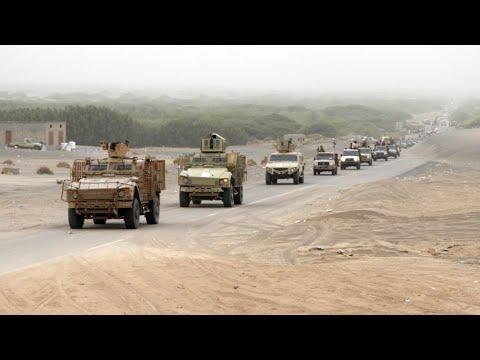 هجوم واسع لقوات الحكومة اليمنية على مطار الحديدة تحت غطاء جوي كثيف للتحالف