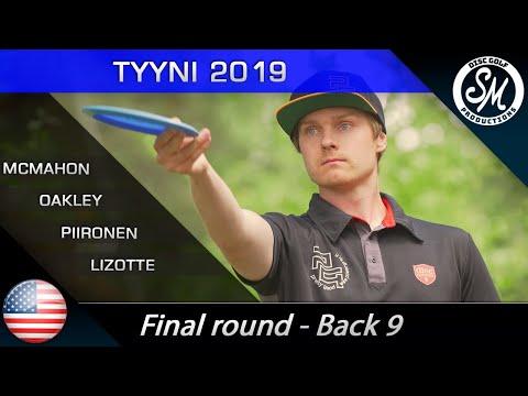 Tyyni 2019 | Round 3 Back 9 | McMahon, Lizotte, Oakley, Piironen