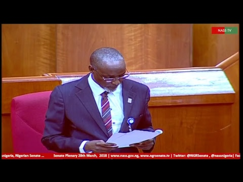 Senate Plenary, 28th March, 2018