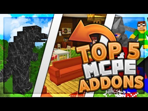 top-5-best-mcpe-addons-2019-1.12+-/-minecraft-pe-(pocket-edition,-xbox,-windows-10)
