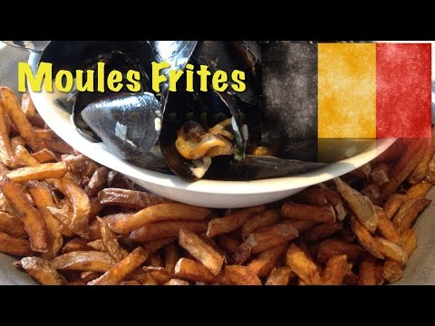 How to cook Moules Frites (The Belgian dish)