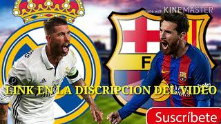 REAL MADRID VS BARCELONA|PARTIDO DE VUELTA|SUPERCOPA