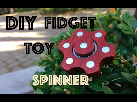 How to make a hand spinner fidget toy