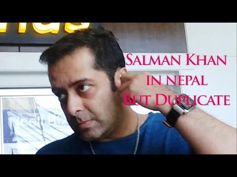 Salman Khan Duplicate in nepal
